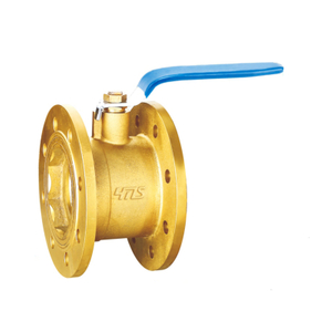 1396 Brass Flange Ball Valve