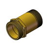 3404 Brass Fire Hose Nipple