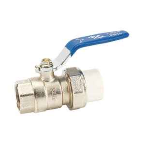 1326 Brass Single PPR Ball Valve